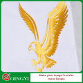 Qingyi wholesale gold glitter heat transfer vinyl for clothing