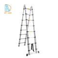 A-type folding telescopic step ladder