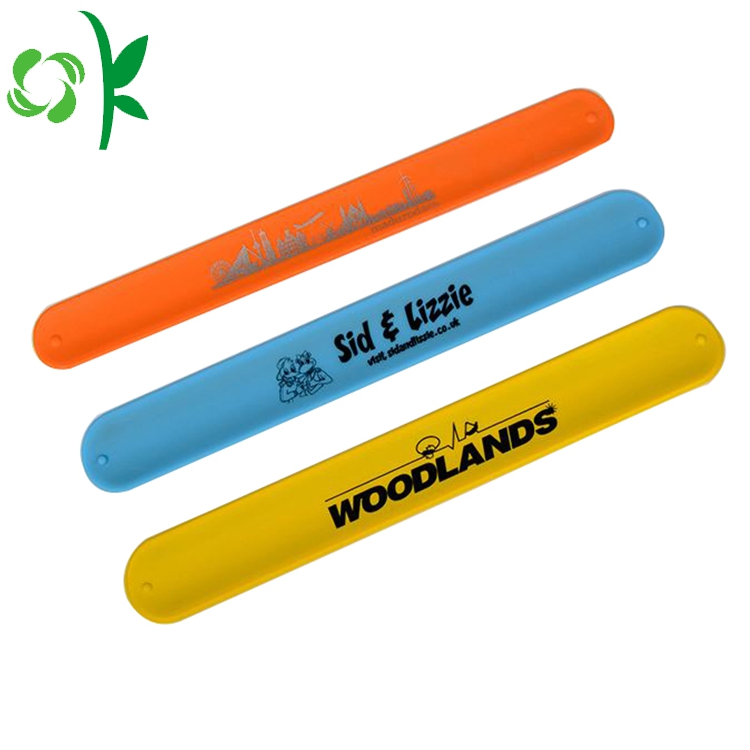 3 Color Silicone Slap Bands