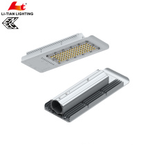 Portable best heat dissipation CE ENEC ROHS approval Meanwell driver led 130lm/W 90W led street light