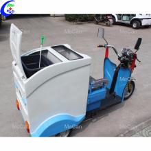 Véhicule de ramassage des ordures à trois roues électrique à bas prix