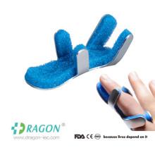 Splint médico do dedo da fratura da rã de alumínio da espuma para primeiros socorros