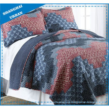 Tribe Totem Printed Polyester Quilted Bedspread Set