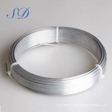 Bobine de fil de fer de Galvanzied de 4mm 0.9mm pour relier de la Chine