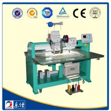 Einzelkopf-Chenille-Handtuch Kettenstich / Cording Coiling / Zwillings-Pailletten computerisierte Stickerei Maschine Preis