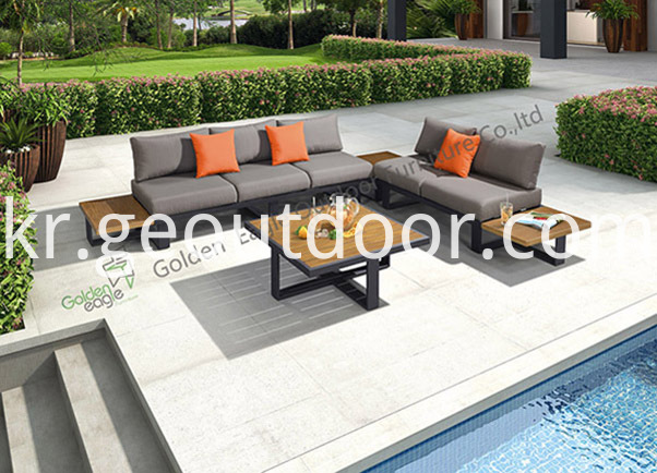 All Aluminium Garden Sofa Set