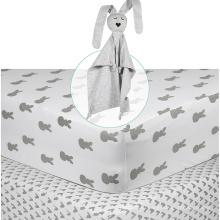 лист хлопка мягкий-подойдет ребеночку Размер собственный логотип для мальчиков и девочек Простынь