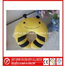 Cute Plush Toy of Soft Bee Neck Pillow