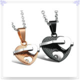 Stainless Steel Jewelry Lovers Category Pendant (HR3259)