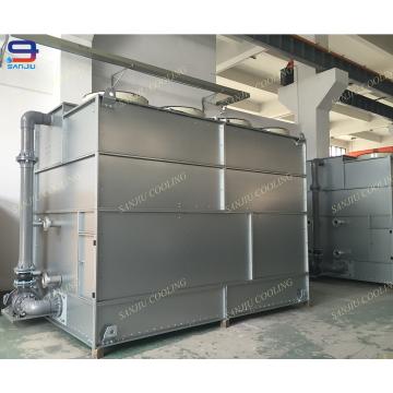 Sistema de resfriamento de compressão de ar com parafuso de refrigeração com água de 183 toneladas