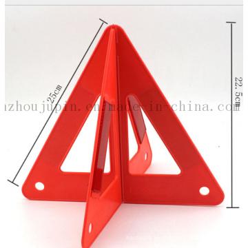 Placa de advertência de advertência triangular do carro reflexivo da estrada do tráfego do OEM