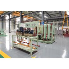 Sistema hidráulico do moinho de tiras a quente