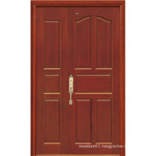 Solid Wood Door (brown colour)