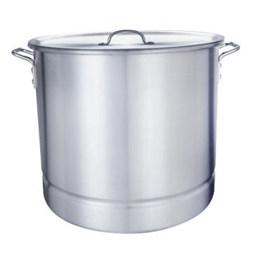 84Qt. Grand pot à vapeur de fruits de mer en aluminium Tamale