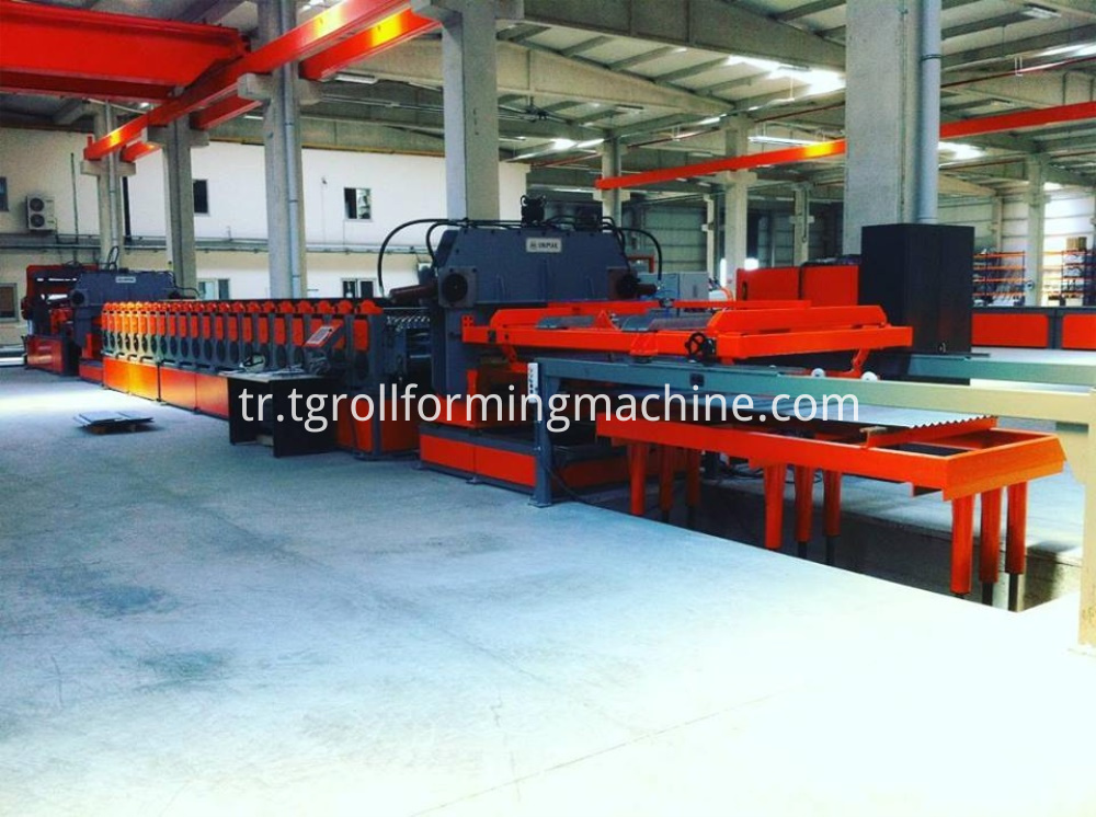 Lipp Steel Spiral Corrugated Silo Roll Forming Machine
