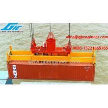 Esparcidor hidráulico automático de contenedores rotativos