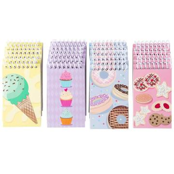 DESSERT MINI SPIRAL NOTEBOOK-0