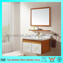 Modern Single Sink Wall Hung Bathroom Vanity Cabinet