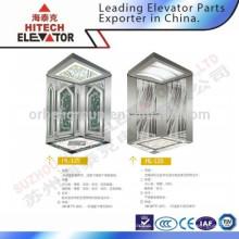 Зеркальная крыша кабины лифта для торгового центра / HL-125