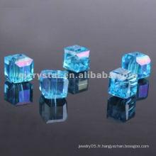 Perles acryliques carrées