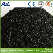 Carbone activé à base de noix de coco pour la purification de l'or