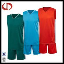Großhandel neuesten Team Uniform Basketball Jersey Design für Mann