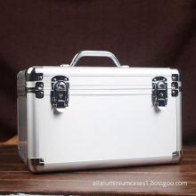 Aluminium Alloy Tool Equipment Brief Case Box Safe Key/Combination Lock Large