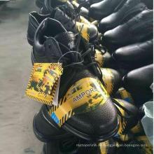Niedrige Preis Stock Work Schuhe Leder Sicherheitsschuhe