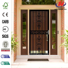 105 Series Black Hinge Left Van Gogh Security Door