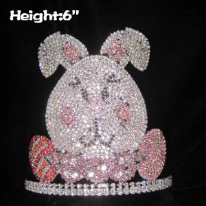 Crystal Rabbit Easter Pageant Crowns