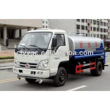 Vagón de agua superior del tanque de agua del carro 5CBM del FOTÓN de FOTON para la venta
