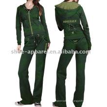 trajes de deporte de terciopelo traje de deporte mujeres