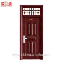 Китайский Новый главный конструкция Провентилированная дверями межкомнатные двери стали дома внутренний фур с шарниром нержавеющей