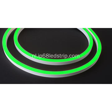 Evenstrip IP68 Dotless 1416 Green Side Bend geleid strip licht