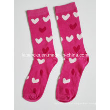 Lady Heart Design Fashion Socks