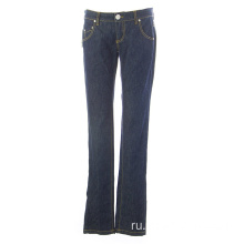 Women Jeans Trousers Cotton Blend Denim Pants