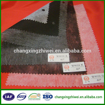 alibaba china wholesale best quality popular nonwoven interlining with oeko-tex100