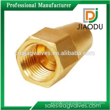 made in china customized 1 inch forged cw617n brass flare long cap nut