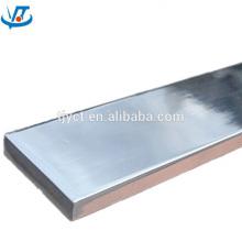 Aço Inoxidável Flat 60x5mm China Fornecedor Genuíno 304 barra chata de aço inoxidável