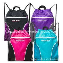 Рекламные дешевые сумки Backpack Drawstring