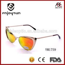 Мода сердце форма леди металлических солнцезащитных очков оптом Alibaba