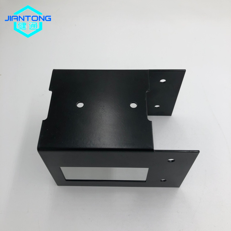 customized black powder coating aluminum stamping aluminum fabrication service (1)