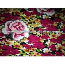 tela impresa del rayón hilado para la ropa de las mujeres
