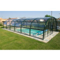 Outdoor Fabric Winter Swimming Pool Cover Aluminium