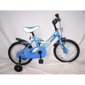 """Bicicleta de acero para niños con marco de 16 """"(1601)"""
