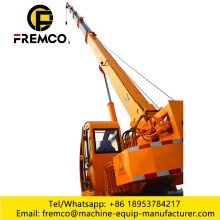 Self Erecting Crane Flatbed Truck Mounted Crane