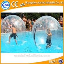 Ao ar livre absorvendo bolas de água inflável esmagar bola de rolamento / bola de água