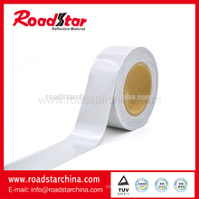 Single side reflective elastic fabric for sportswear