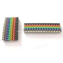 Marcadores de cable de red POM 1.5 2.5 4 6mm