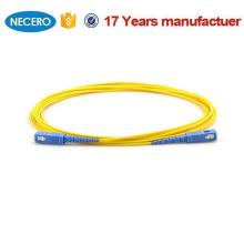 SM SX 3mm 30M 9 / 125um 30 metros Cable de puente de fibra óptica SC / UPC-SC / UPC Cable de conexión de fibra óptica para sistemas de cableado de Austria